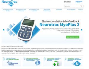 NeurotracShop, distributeur exclusif des électrostimulateur Neurotrac